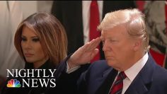 Thousands Pay Their Respects To President George H.W. Bush   NBC Nightly News