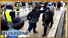 ?? France: Video of former boxer punching police officers goes viral l Al Jazeera English