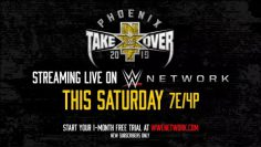 NXT TakeOver: Phoenix – Streaming live this Saturday